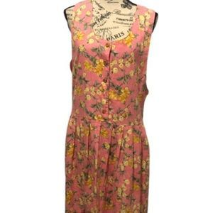 Vintage Bryn Connell Floral Maxi Dress